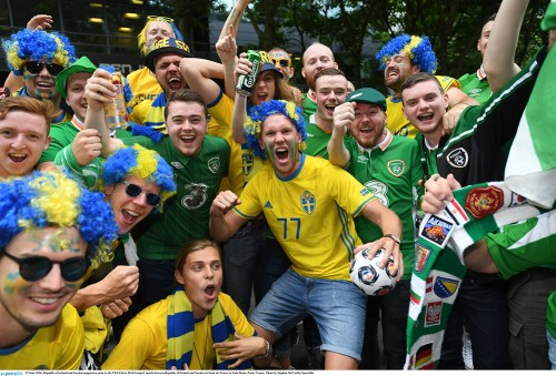 Watch: Irish Euro fans still soundest
