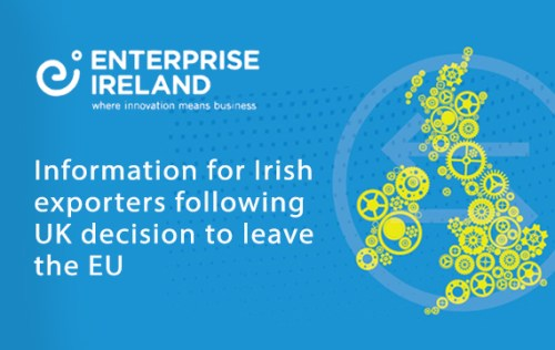 "Enterprise Ireland: Brexit means ""significant new challenges for Irish companies"""