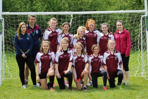 St. Colmcilles' U14 Girls Win Gaelic Football Tournament