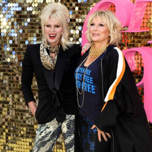 Jennifer Saunders Joanna Lumley Strictly