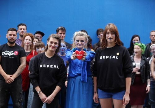 repeal 8th mural replicas