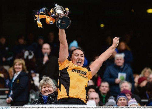 Croke Park queen Quirke works oracle