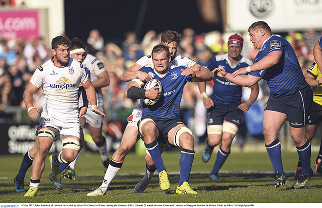 Sean O'Brien out of Leinster's PRO12 semi-final