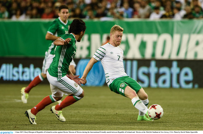 Mexico too strong for Republic of Ireland in New Jersey international