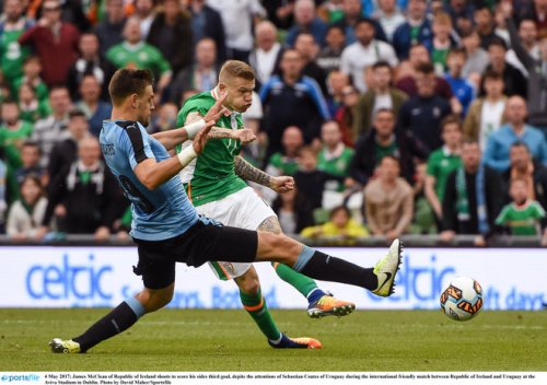republic of ireland uruguay austria world cup qualifier confidence booster