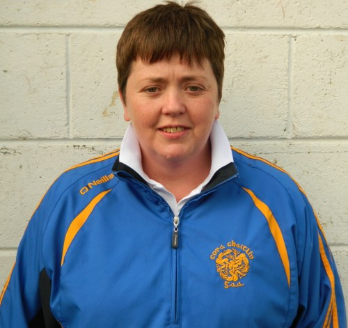 Camogie Back Drawing Board Clare