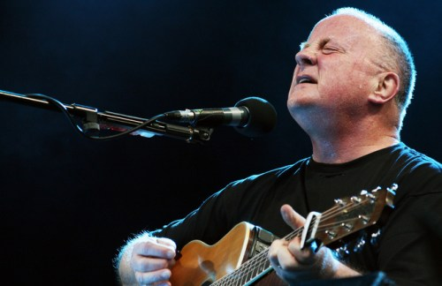 crowd cried christy Moore Royal Festival Hall