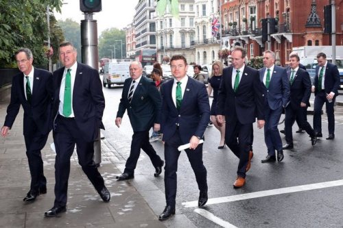 May backs Ireland's Rugby World Cup bid