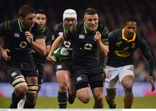 Ireland intensity grinds Springboks submission