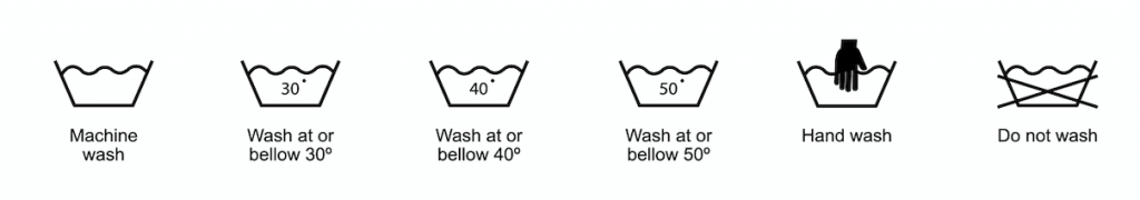 The Washing Symbols On Your Clothes Explained A Simple Guide The Ironing Lady Ltd