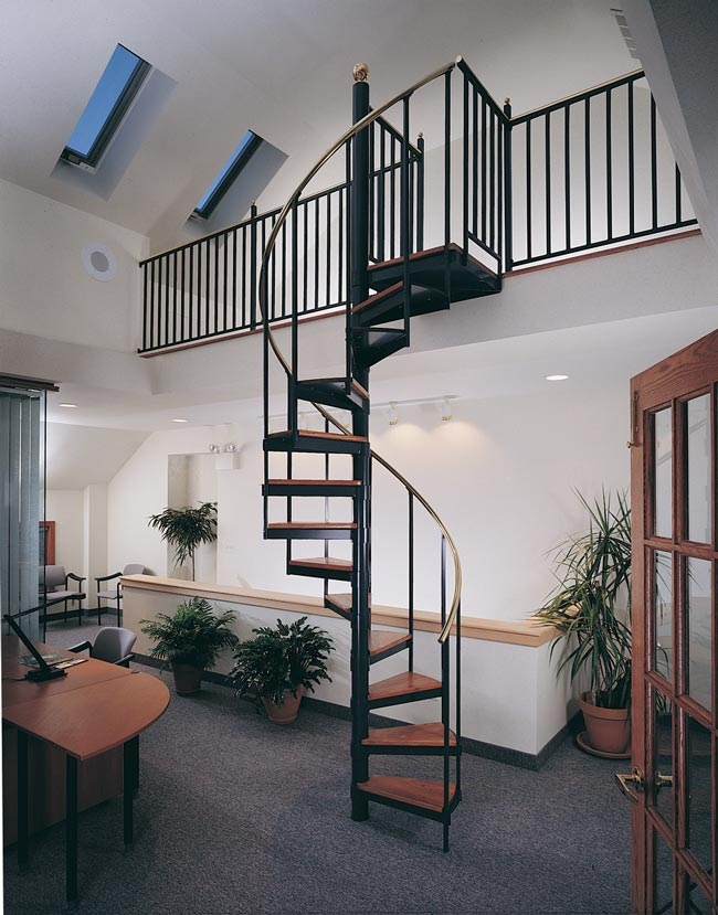Metal Spiral Staircase Photo Gallery The Iron Shop Spiral Stairs | Steel Spiral Staircase Design | Concrete | Outdoor | Wood | Structural | Cast Iron