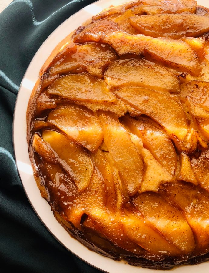 Five Spice Apple Upside Down Cake