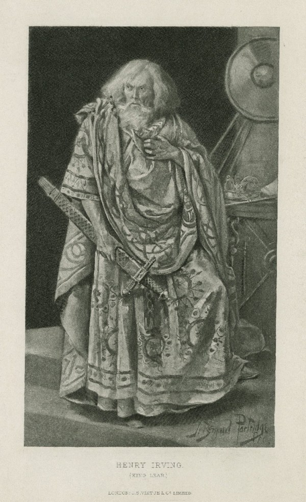 Henry Irving as King Lear