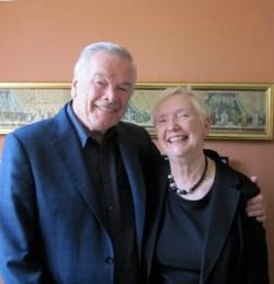 Frances Hughes and Frank Barrie