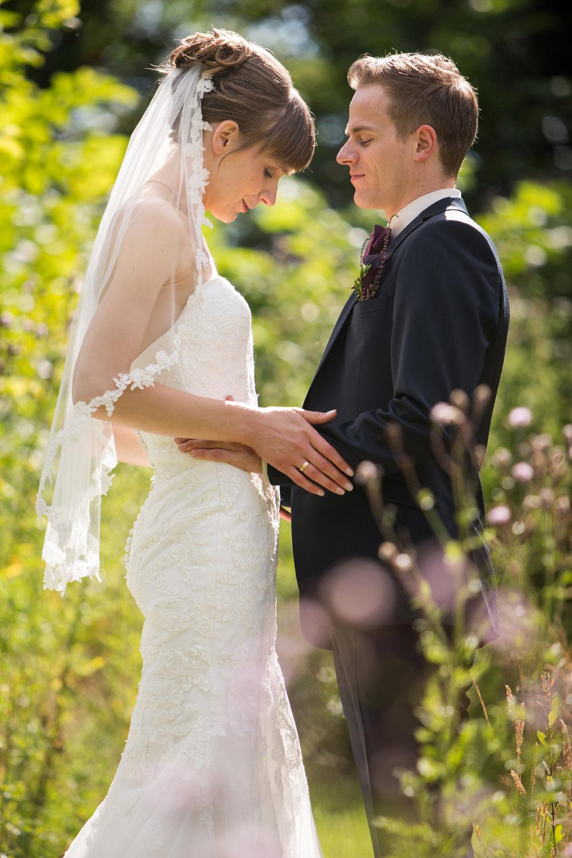 Kærlighed på bryllupsdagen ved Brande