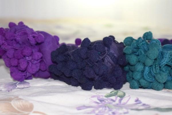 Cotton Pom Pom Scarves by Q&S Islamic Store