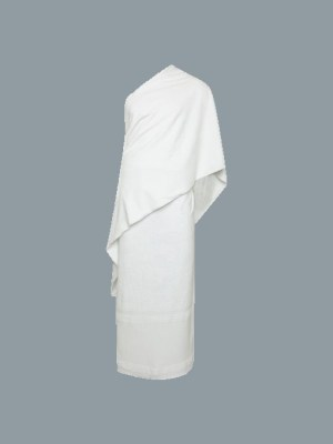 Pure Cotton Ihram for Men by Q&S Islamic Store