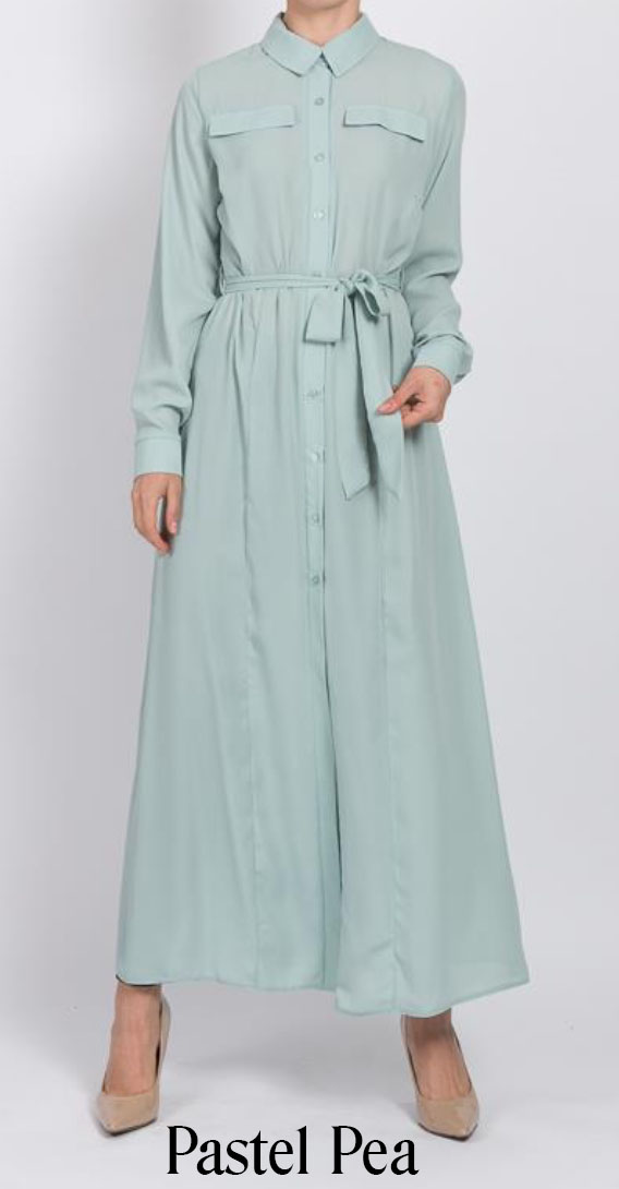 Maxi Long Shirt by Q&S Islamic Store