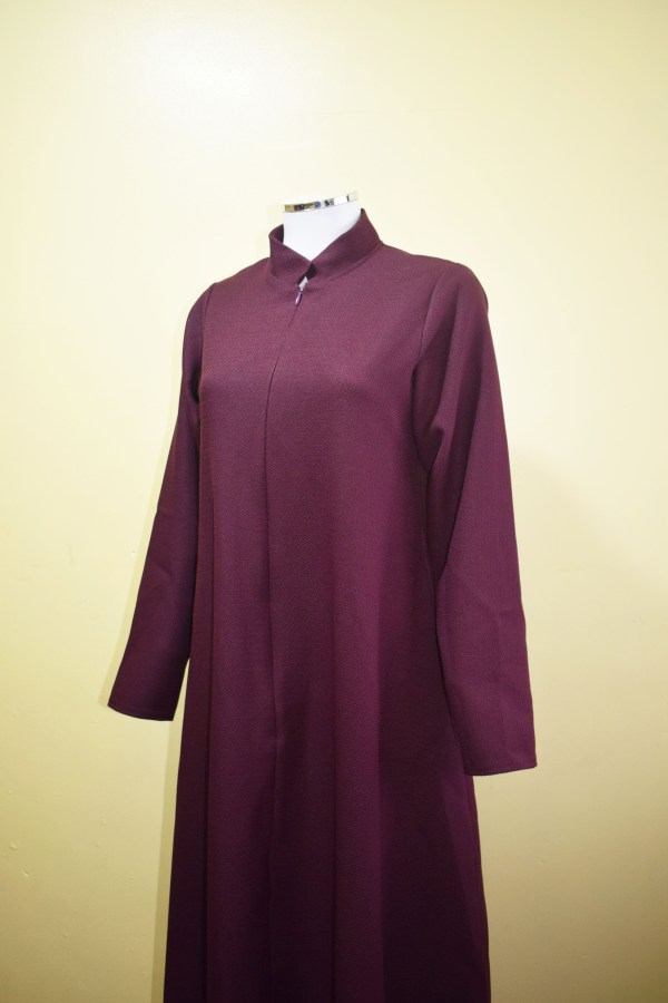Front zip abayah with pockets on each side - Q&S Islamic Store