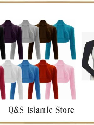 Connected sleeves by Q&S Islamic Store