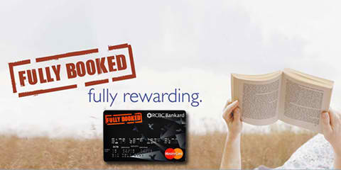 The Fully Booked-RCBC Bankard MasterCard – the booklover's credit card
