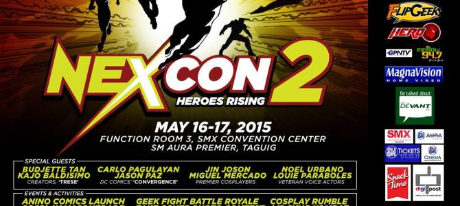 NexCon 2: where heroes rise