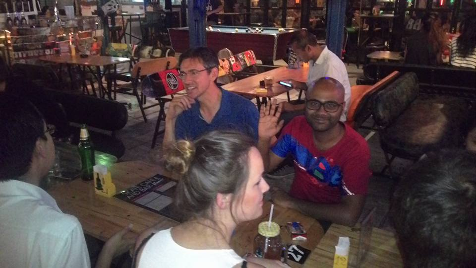 My first Couchsurf meetup in Bangkok (October 2015)