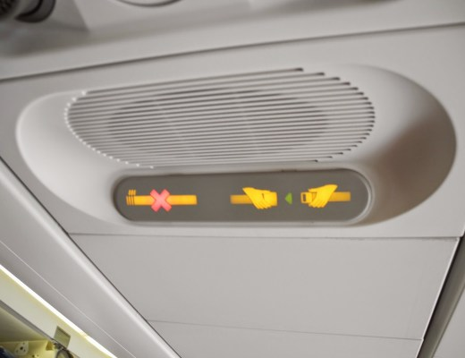 Seat-belt sign