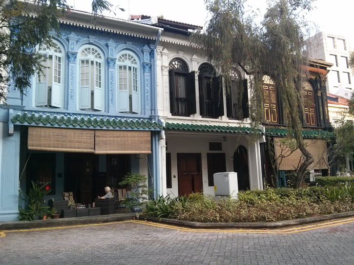 Carine's home at Emerald Hill Road