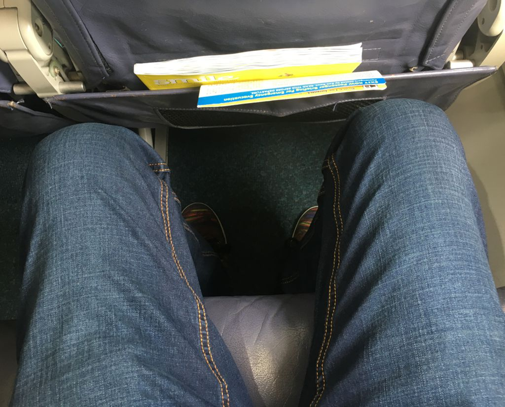 Cebu Pacific Seat Pitch