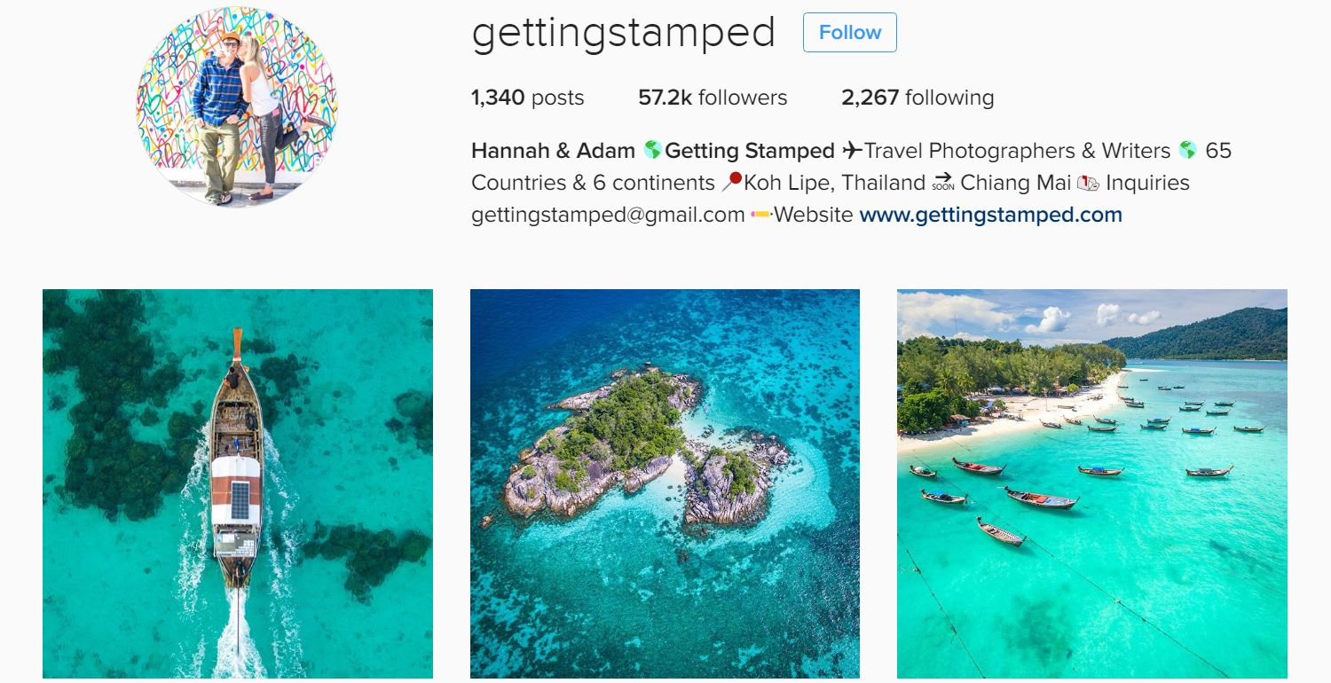 10 Travel Instagram Accounts to Follow in 2017 | the island logic