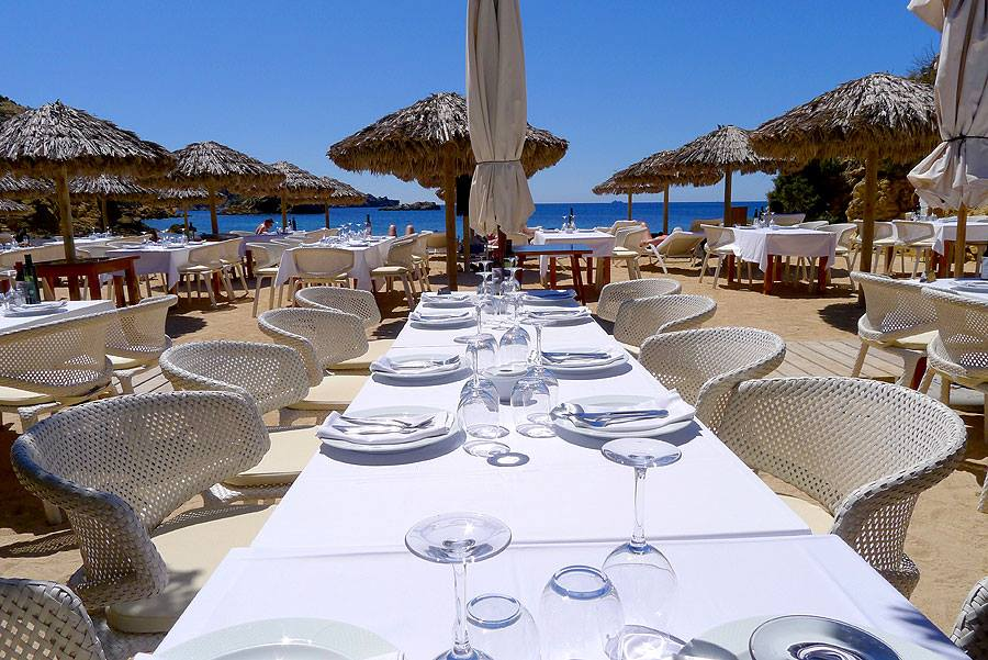 es torrent beach restaurant ibiza