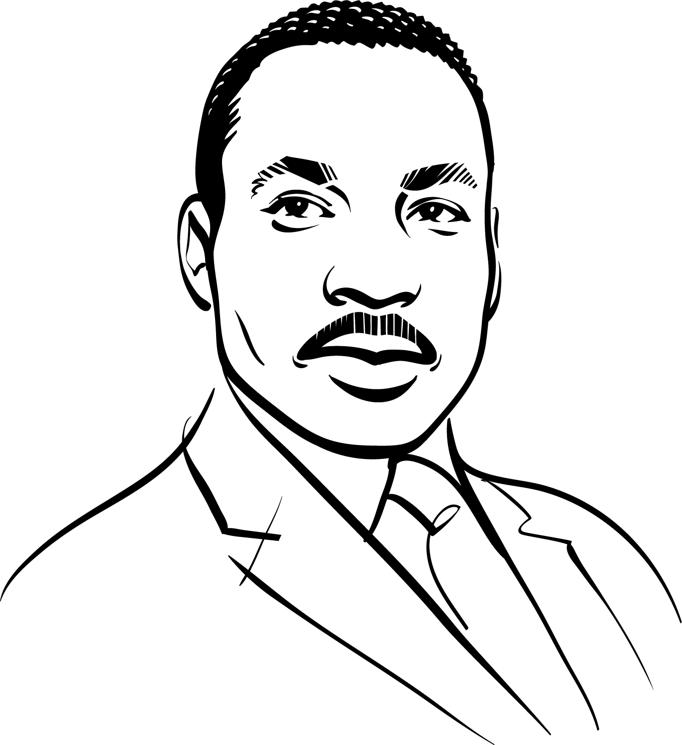 Kathryn Rathke Illustration Dr Martin Luther King