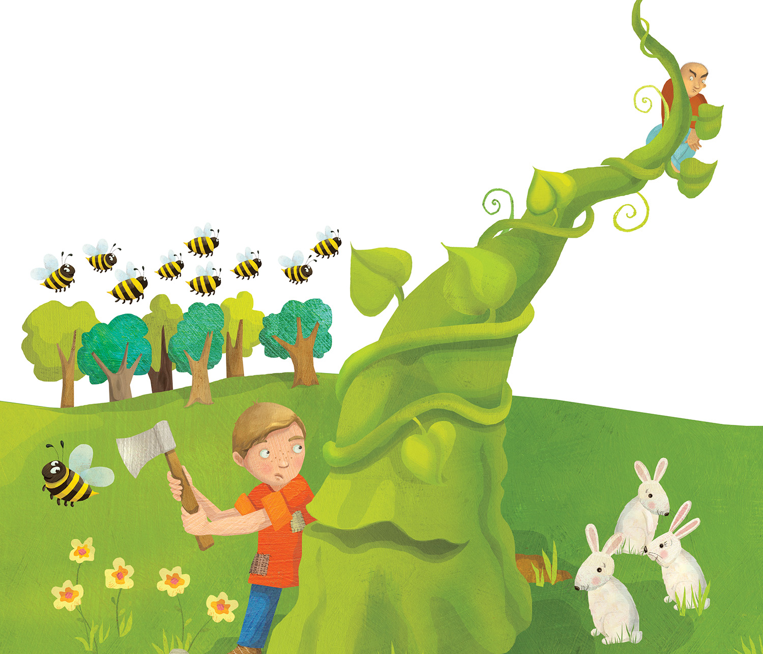 Laura Watson Illustration Jack And The Beanstalk Activity