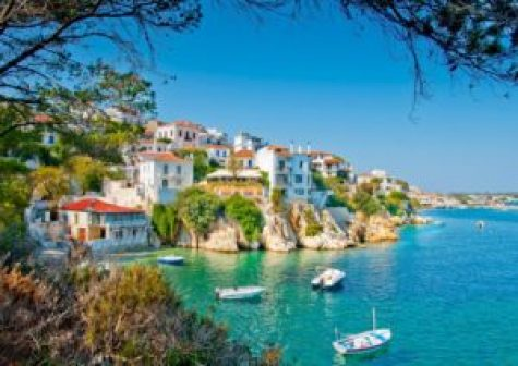 A picturesque capital of the island, and its typical Mediterranean architecture