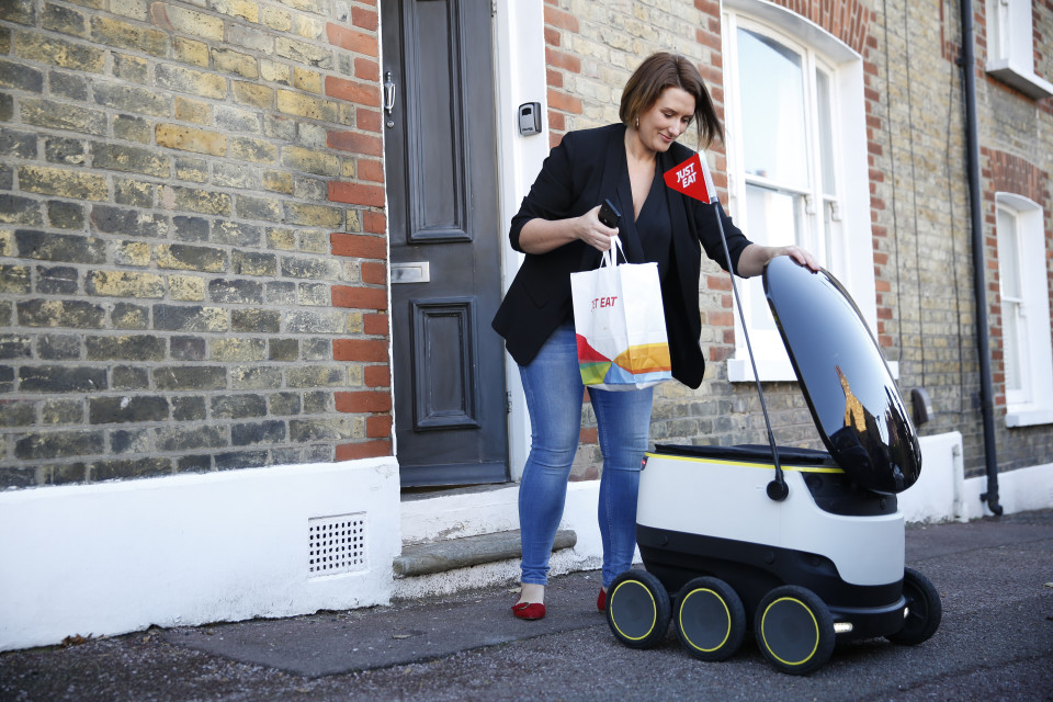 Here Comes Worlds First Food Delivery By Robot The Issue