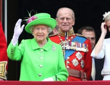 Queen Elizabeth and her husband, Prince Philip, Duke of Edinburgh