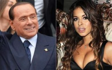 Karima El Mahroug, known by the stage name of 'Ruby' a Moroccan prostitute (pictured left), became famous after an affair with Berlusconi.