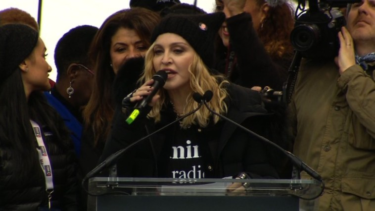 madonna womens march