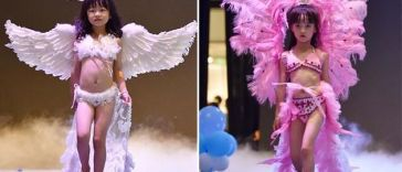 victoria's secret sexualizing children