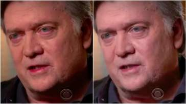 steve bannon 60 minutes interview