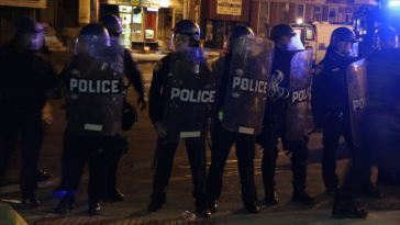 baltimore martial law
