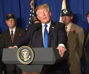trump veterans vietnam speech