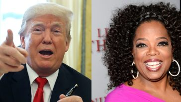 trump oprah will not run
