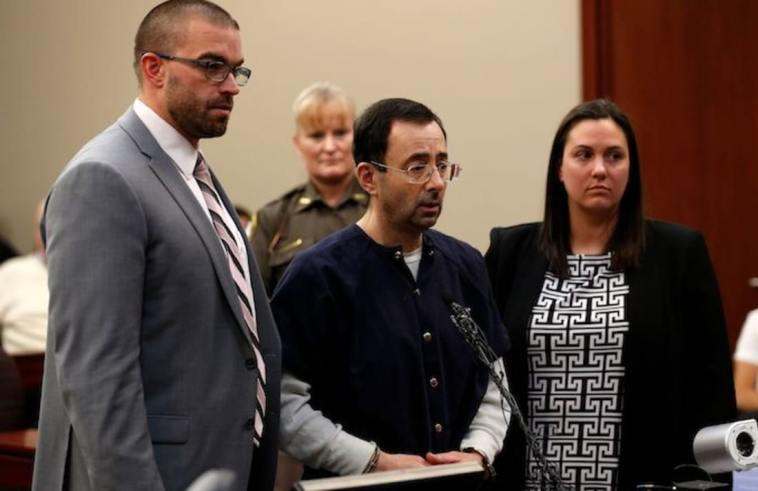 Father Of Abused Girls Tries To Tackle Larry Nassar in Court! (VIDEO)