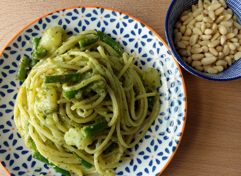 Pesto and Trenette alla Genovese