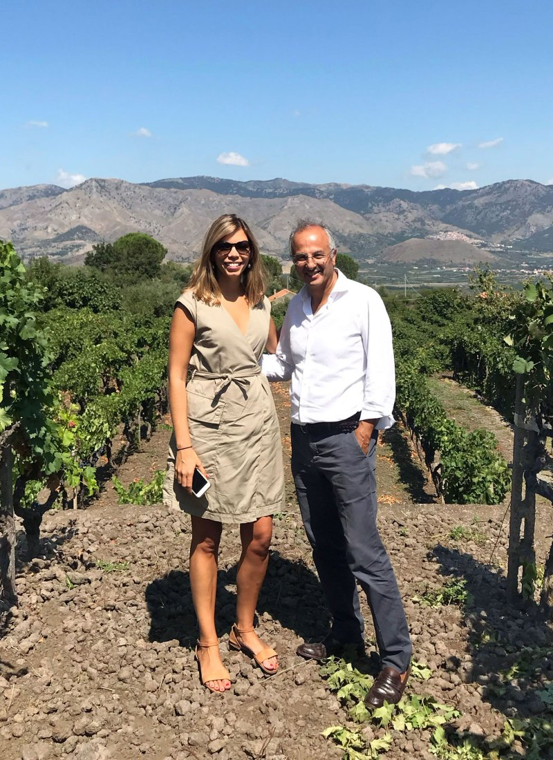 Paolo Caciorgna, Winemaker To The Stars