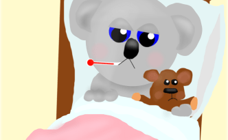 Sick Koala