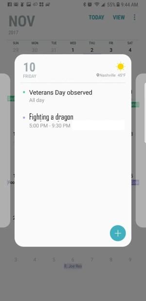 Google Assistant family calendar fail