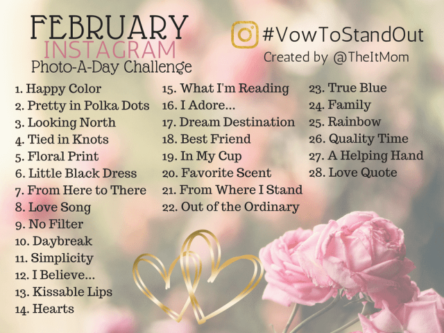 February 2017 The It Mom photo challenge